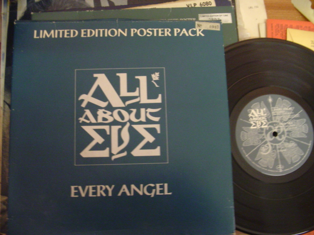 ALL ABOUT EVE - EVERY ANGEL - MERCURY - POSTER PACK
