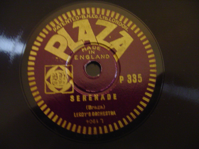 PLAZA RECORDS # 346 - PERCY WATTS BARITONE