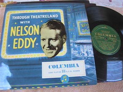 NELSON EDDY - THROUGH THEREAFTER - COLUMBIA { 192