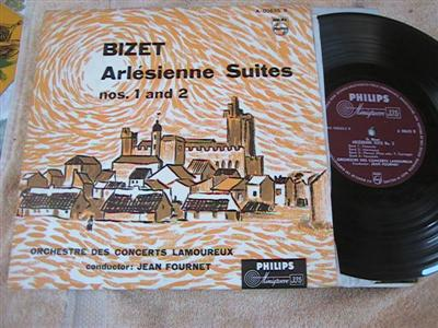 BIZET - ARLESIENNE SUITE - FOURNET - PHILIPS { 190