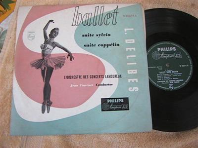 DELIBES - BALLET SYLVIA - JEAN FOURNET - PHILIPS { 177