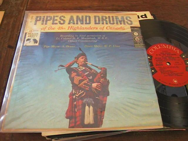 48th HIGHLANDERS OF CANADA - PIPES & DRUMS - COLUMBIA