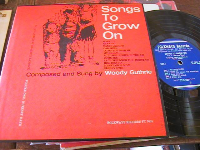 WOODY GUTHRIE - SONGS TO GROW ON - FOLKWAYS