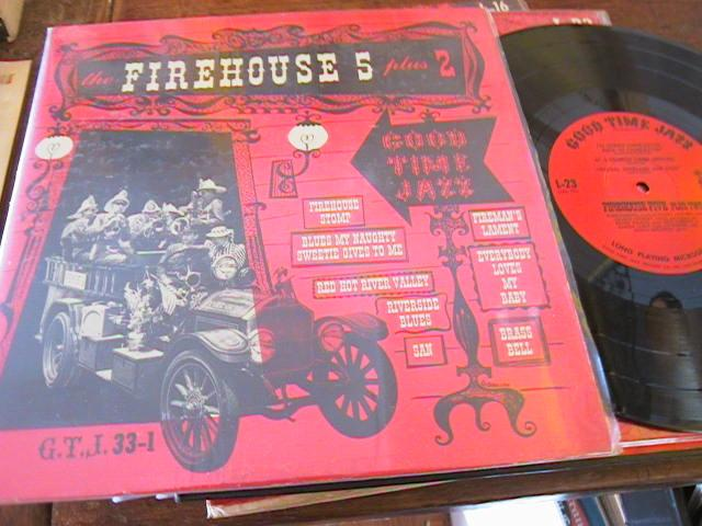 FIREHOUSE FIVE PLUS TWO - VOL 1 - GOOD TIME JAZZ