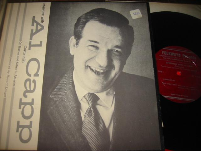 AL CAPP - INTERVIEW WITH - FOLKWAYS