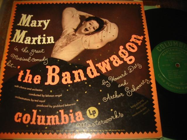 THE BANDWAGON - MARY MARTIN - COLUMBIA