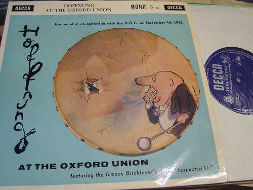 Gerard Hoffnung - At the Oxford Union - Decca LF.1330