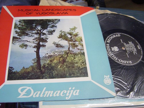 Musical Landscapes of Yogoslavia - Radio Televizija Beogard LP1