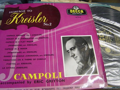 Campoli - Homage to Kreisler No.2 - Decca LW.5218