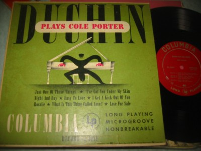 EDDY DUCHIN - PLAYS COLE PORTER - COLUMBIA { 258