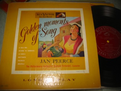 JAN PEERCE - GOLDEN MOMENTS - RCA { 252