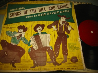 RED RIVER DAVE - SONGS OF RANGE - PLAYHOUSE { 238