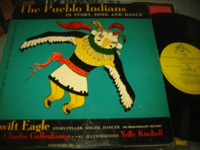 THE PUEBLO INDIANS - - STORIES SONGS - SWIFT EAGLE { 231
