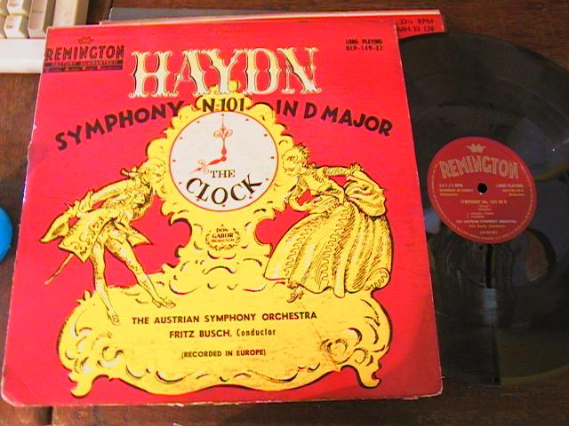 HAYDN - THE CLOCK SYMPH - BUSCH - REMMINGTON { 40