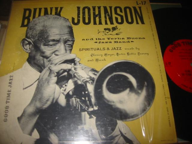 BUNK JOHNSON - SPIRITUALS & JAZZ - GOOD TIME JAZZ