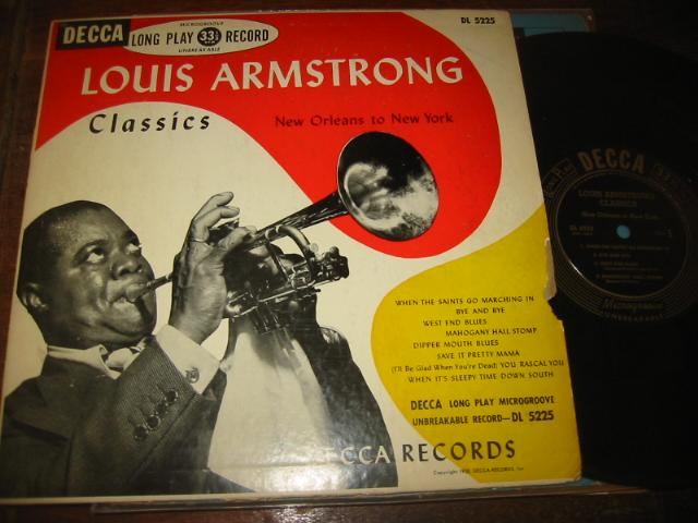 LOUIS ARMSTRONG - NEW ORLEANS TO NY - DECCA