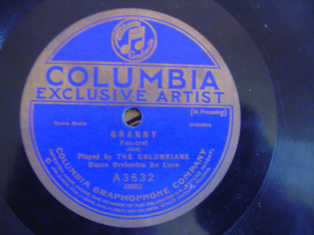 THE COLUMBIANS - GRANNY - COLUMBIA A 3532