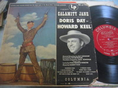CALAMITY JANE - DORIS DAY & HOWARD KEEL - COLUMBIA [ 298