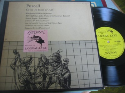 PURCELL - COME YE SONS OF ART - L'OISEAU LYRE { 302