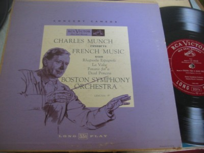 RAVEL - FRENCH MUSIC - MUNCH - RCA [ 303