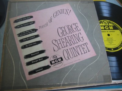 GEORGE SHEARING - TOUCH GENIUS - MGM { 306