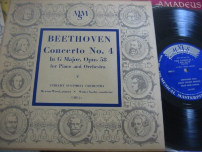 MEWTON WOOD - BEETHOVEN CONCERTO 4 - MMS { 310