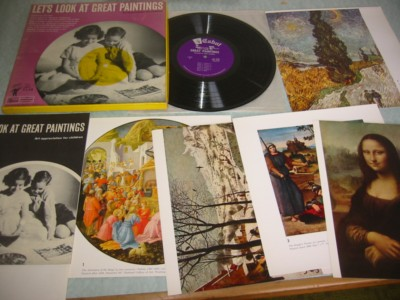 GREAT PAINTINGS - CABOT RECORDS - RARE BOX SET { 321