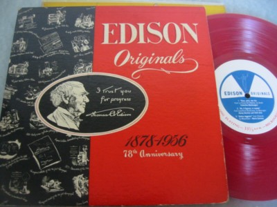 EDISON ORIGINALS - 1878 - 1956 - { 283