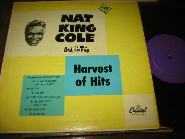 NAT KING COLE - HARVEST MOON - CAPITOL