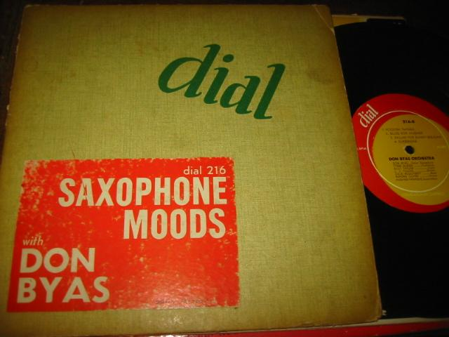 DON BYAS - SAXOPHONE MOODS - DIAL RECORDS