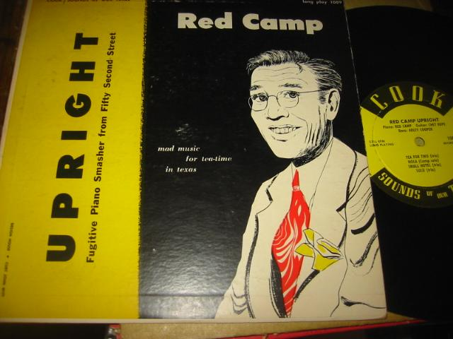 RED CAMP - UPRIGHT - COOK RECORDS