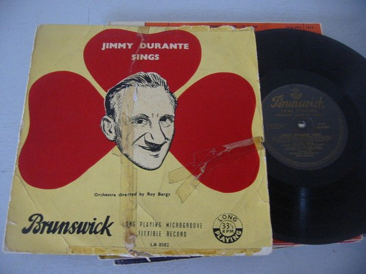 JIMMY DURANTE - SINGS - BRUNSWICK - SOUTH AFRICA LP