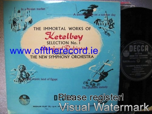 Ketelbey - Immortal Works - Stanford Robinson - Decca