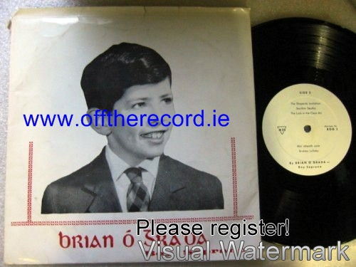 Brian O Grada - Boy Soprano - Rare Private Recording