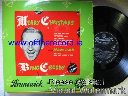 Bing Crosby & Andrews Sisters - Merry Christmas - Brunswick