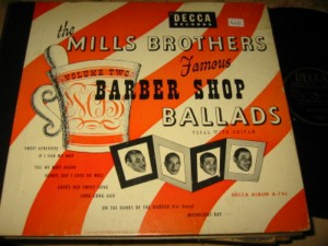 MILLS BROTHERS - BARBER SHOP BALLADS - DECCA - 78 Set