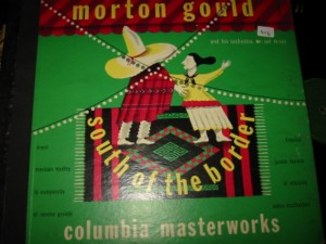 MORTON GOULD - SOUTH OF BORDER - COLUMBIA - Set