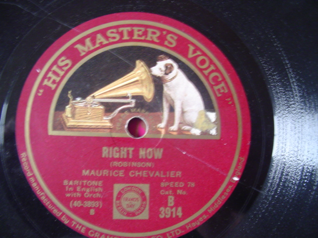 MAURICE CHEVALIER - MOONLIGHT SAVINGS TIME - HMV