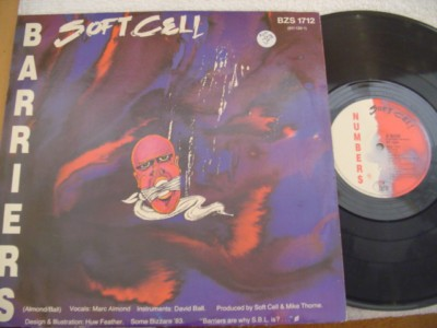 SOFT CELL - NUMBERS / BARRIERS - SOME BIZZARE { K 293