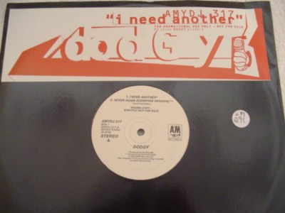 DODGY - I NEED ANOTHER - A & M PROMO { K 291