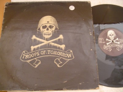 THE EXPLOITED - TROOPS OF TOMORROW - TROOPS 1 { K 270