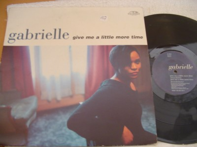 GABRIELLE - GIVE LITTLE MORE TIME - GO BEAT { K 269