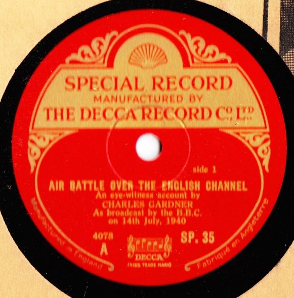 Charles Gardiner - Air Battle over English Channel - Decca SP.35
