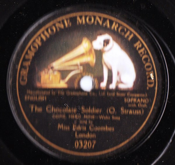 Edris Coombes - The Chocolate Soldier - Gramophone Monarch 03207