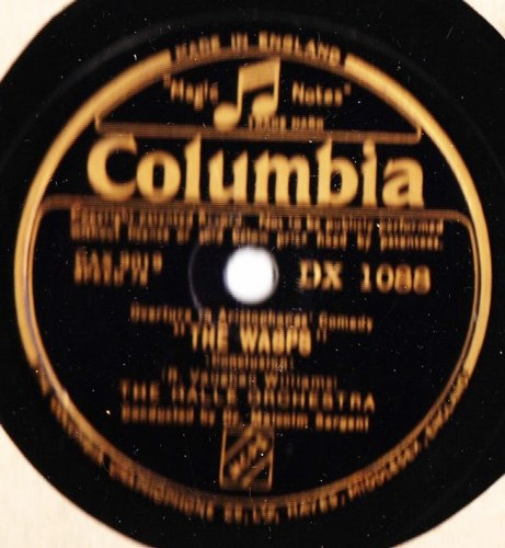 Vaughan Williams - Wasps - Malcolm Sargent - Columbia DX.1088