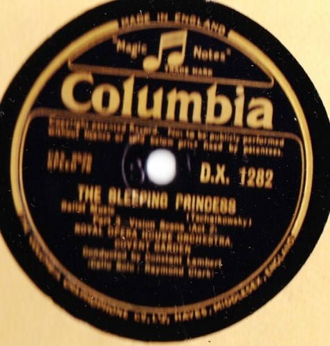 Tschaikowsky - Sleeping Princess - Lambert - Columbia DX.1282