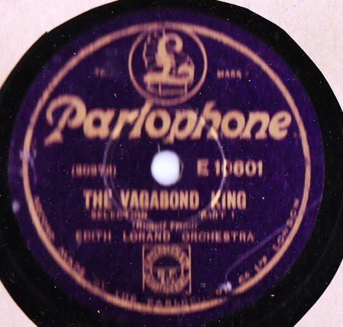 Edith Lorand - The Vagabond King - Parlophone E.10601