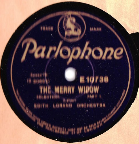 Edith Lorand - The Merry Widow - Parlophone E.10738