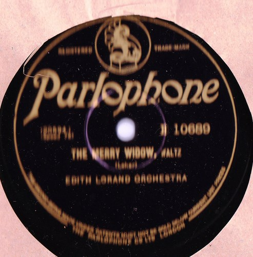 Edith Lorand - Count of Luxemburg - Parlophone E.10689