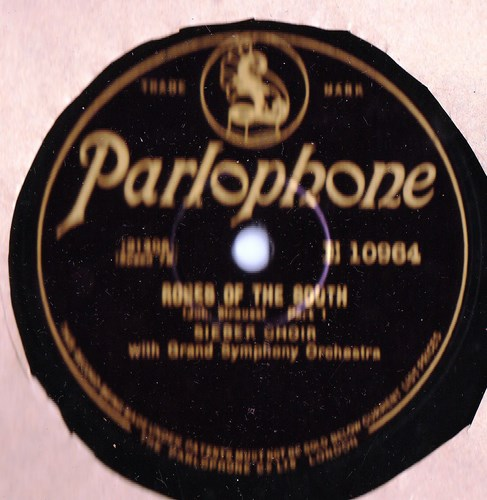 Sieber Choir - Roses of the South - Parlophone E.10964